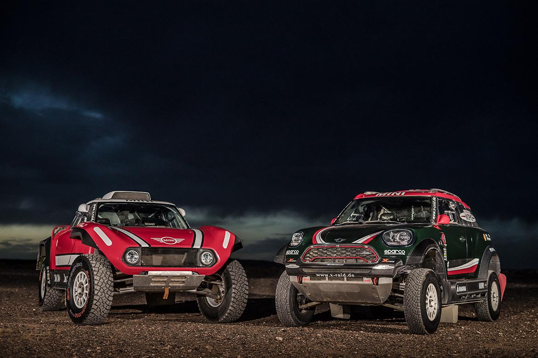 MINI John Cooper Works Buggy & MINI John Cooper Works Rally (Foto: X-raid)