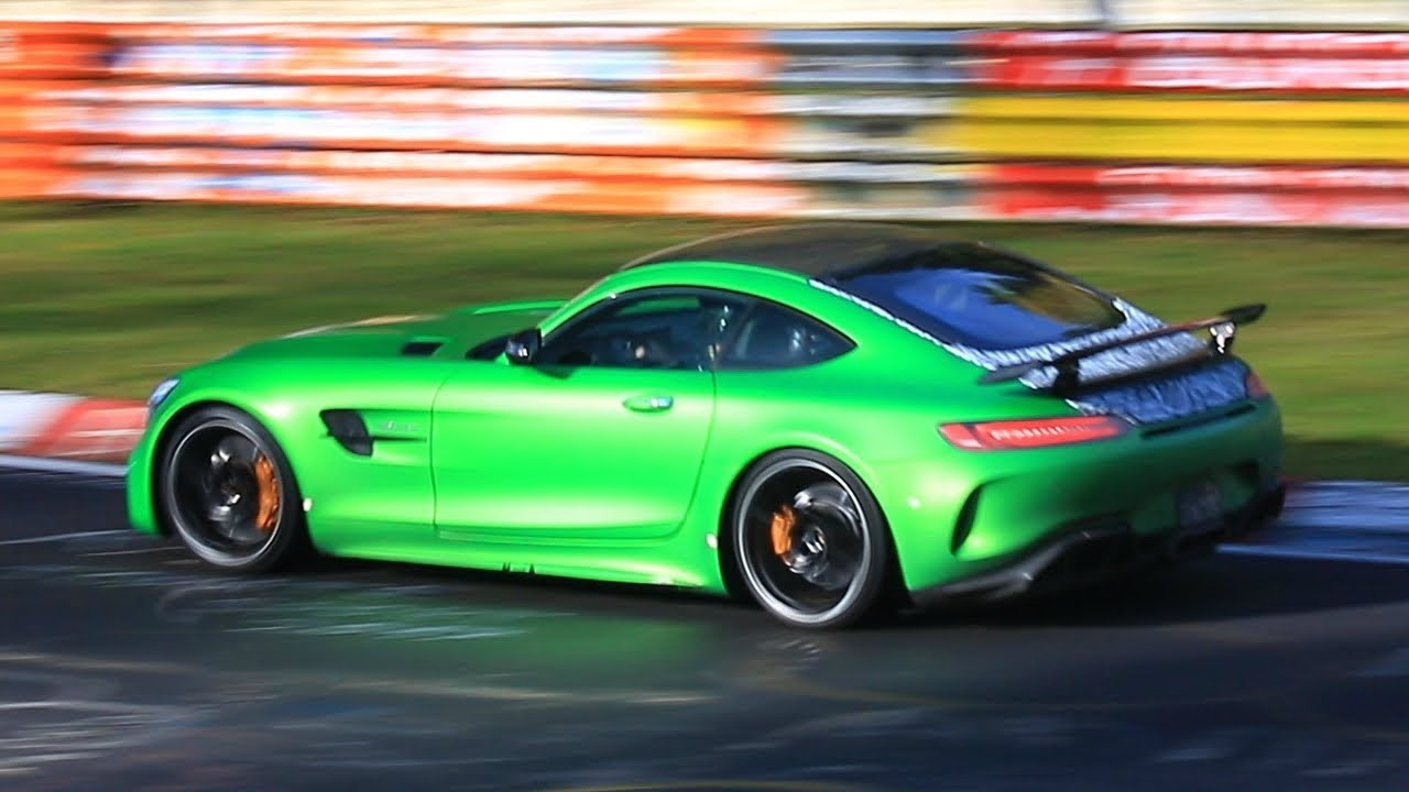 Mercedes AMG GT R Black Series (Screenshot Youtube Statesidesupercars / nurburgringlivepics)