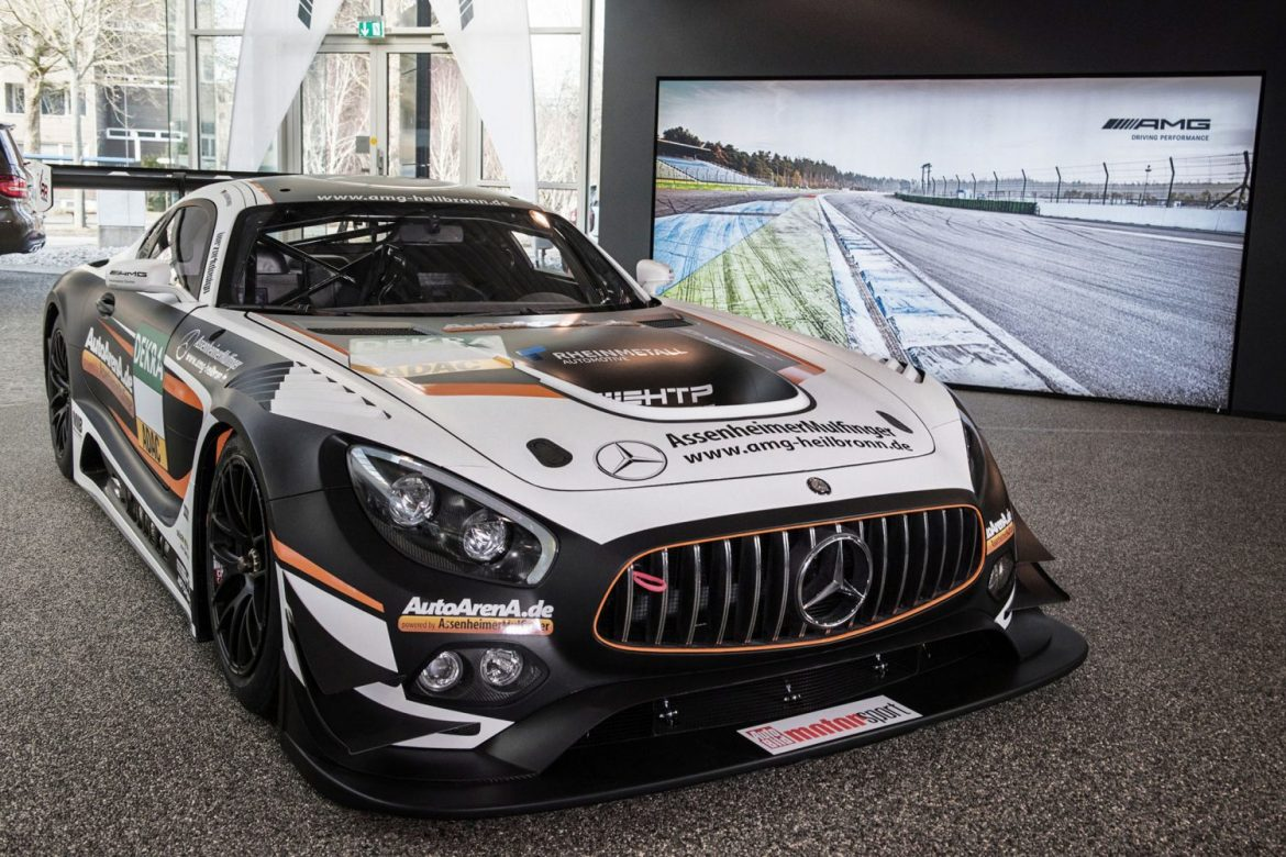 Mercedes AMG GT3 (Foto: Huter Group/Christian Reichert)