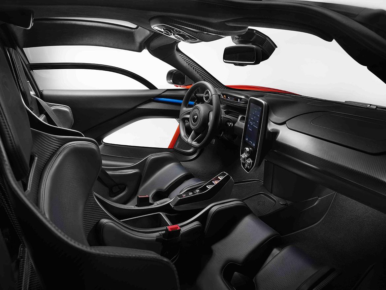 Kompromisslos: Innenraum des McLaren Senna (Foto: McLaren)