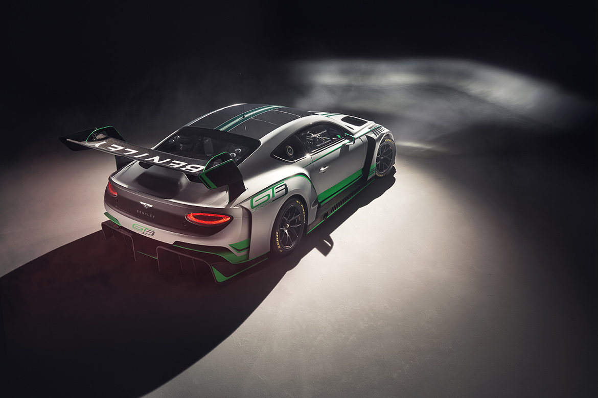 2018 Bentley Continental GT3 (Foto: Bentley)