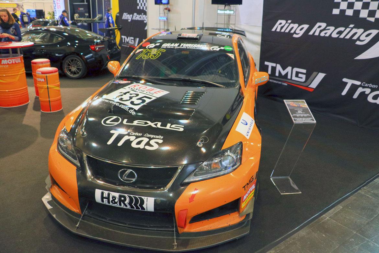 Lexus IS F CCS-R von Ring Racing auf der Essen Motor Show 2017