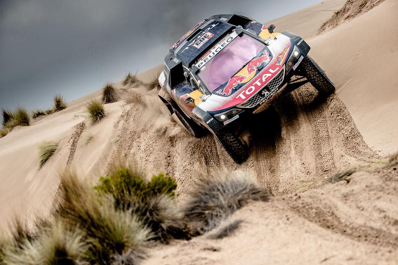 Sieger der Dakar Rally 2018: Sainz/Cruz - Peugeot 3008 DKR Maxi (Foto: Peugeot)