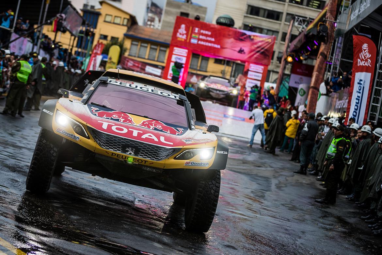 Peugeot 3008 DKR Maxi bei der Rally Dakar 2018 (Foto: Peugeot Sport)