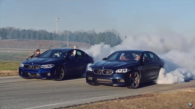 BMW M5 Weltrekord für den längsten Drift (Youtube/BMW USA)