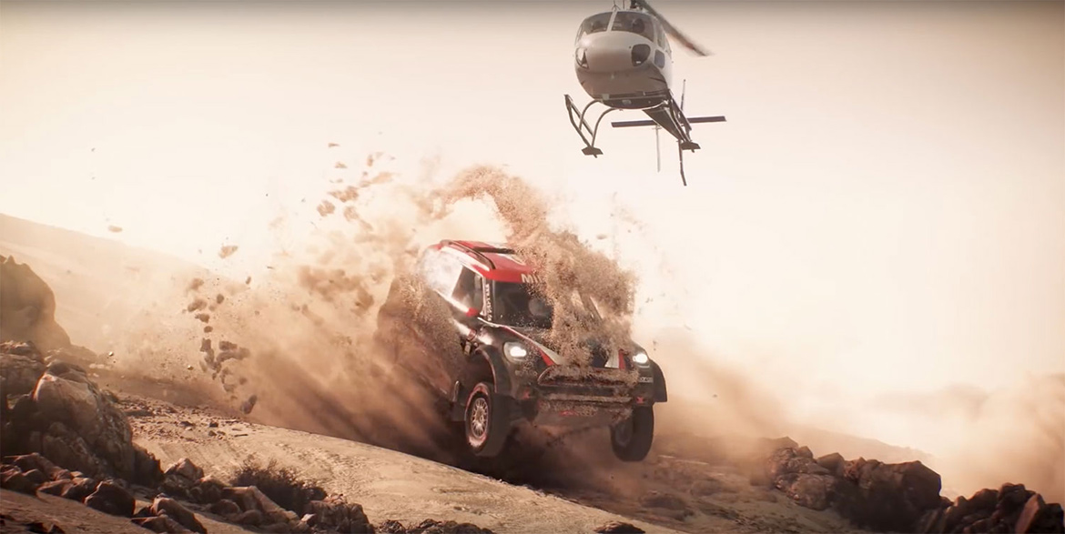 Trailer zu Dakar 18 (Screenshot Youtube)
