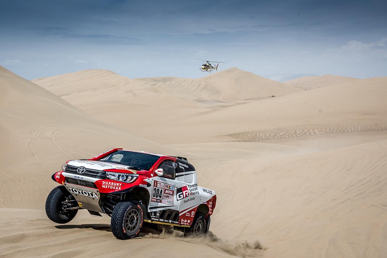 Giniel de Villiers - Toyota Hilux - Rally Dakar 2018 (Foto: Toyota)