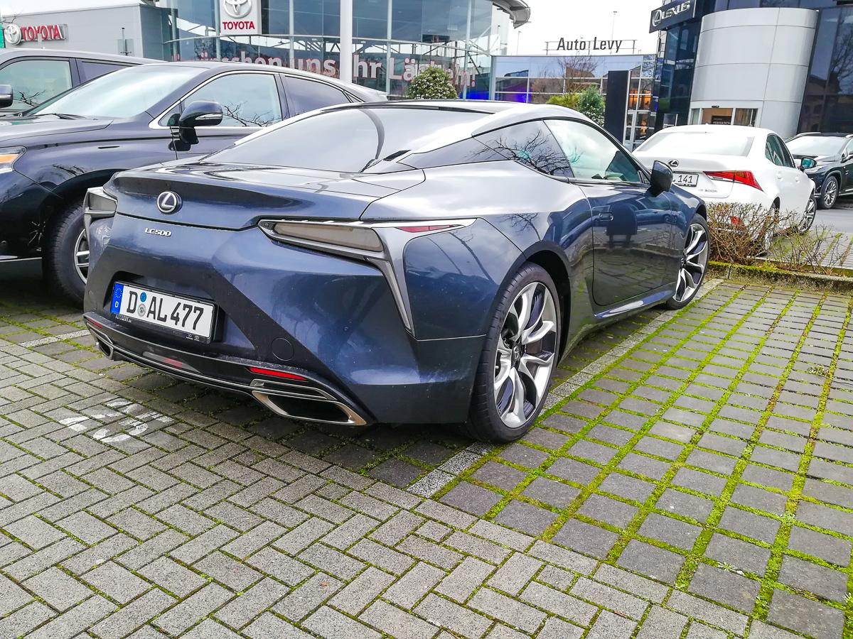 Lexus LC 500 vom Lexus Forum Düsseldorf