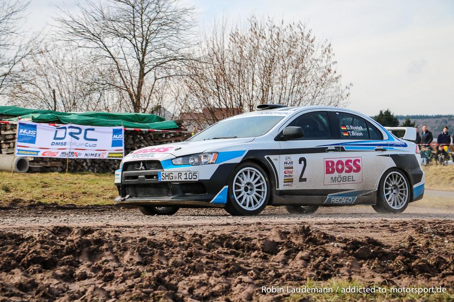 Dennis Rostek/Tobias Braun - Mitshubishi Lancer Evo X - Werra-Meißner-Rallye 2018