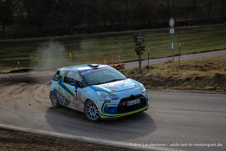 Konstantin Keil/Björn Martin Handor - Citroen DS3 R3T Max - Werra-Meißner-Rallye 2018