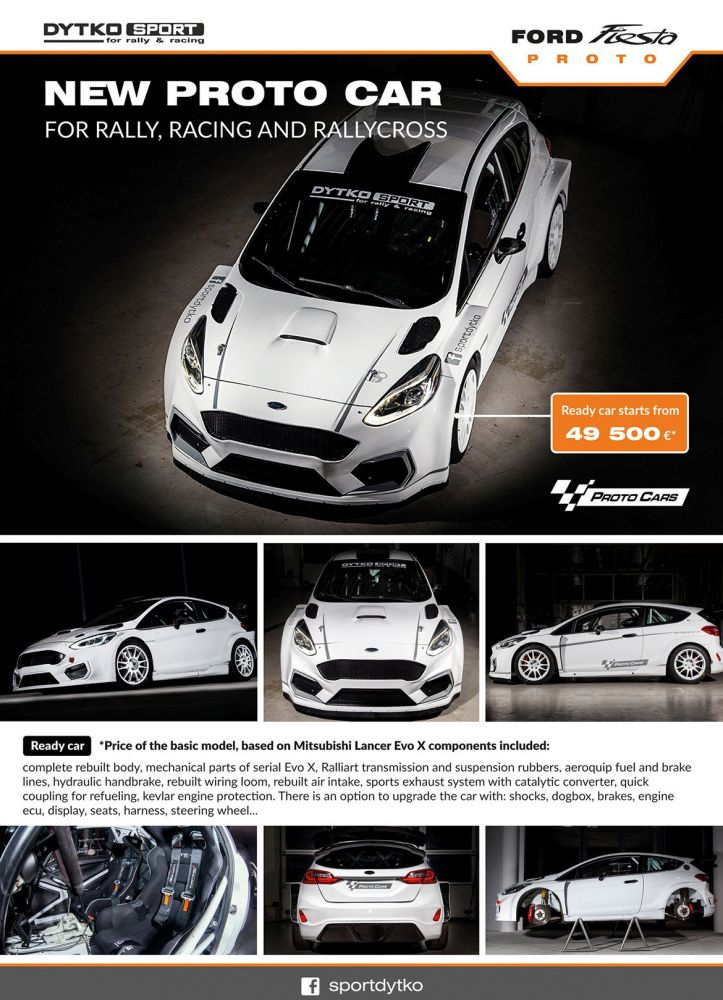 Ford Fiesta Proto - Kundeninformationen von Dytko Sport (Quelle: Facebook/Dytko Sport)