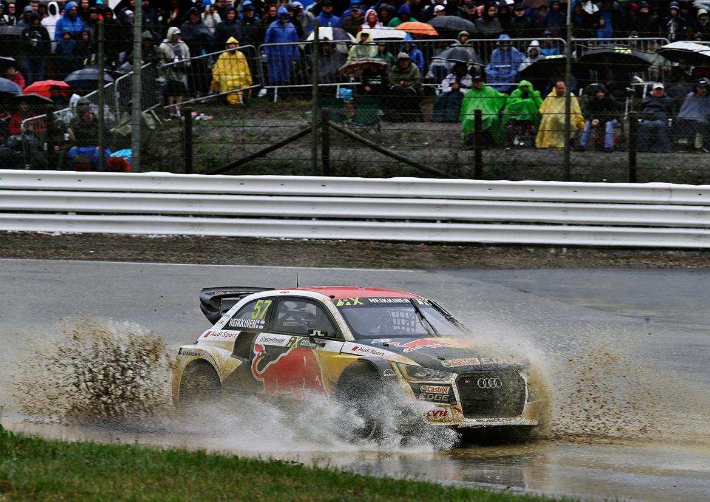 Toomas Heikkinen - Audi S1 EKS RX (Foto: Audi)