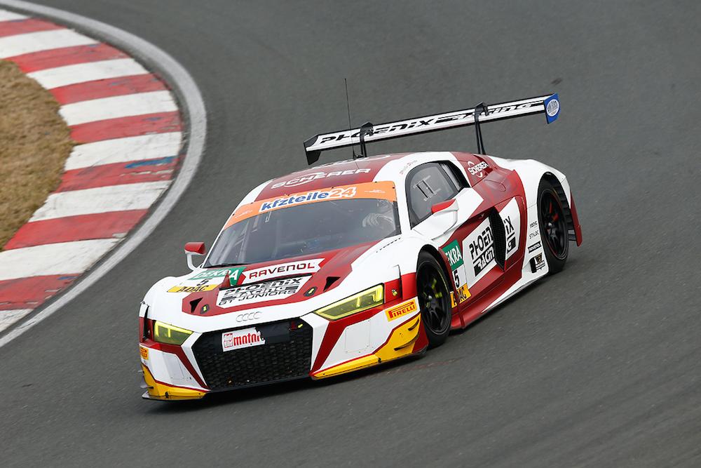 Phoenix Racing Audi R8 LMS - ADAC GT Masters Test 2018 (Foto: ADAC Motorsport)