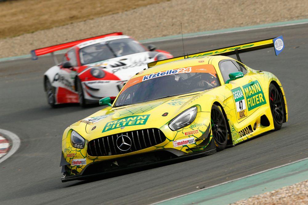HTP Motorsport Mercedes AMG GT3 - ADAC GT Masters Test 2018 (Foto: ADAC Motorsport)