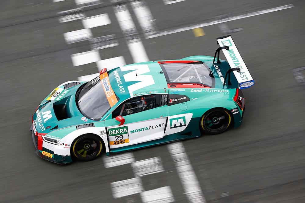 Land Motorsport Audi R8 LMS - ADAC GT Masters Test 2018 (Foto: ADAC Motorsport)