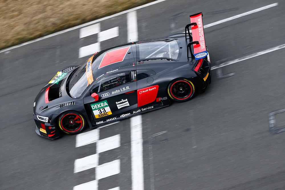 Team ISR Audi R8 LMS - ADAC GT Masters Test 2018 (Foto: ADAC Motorsport)