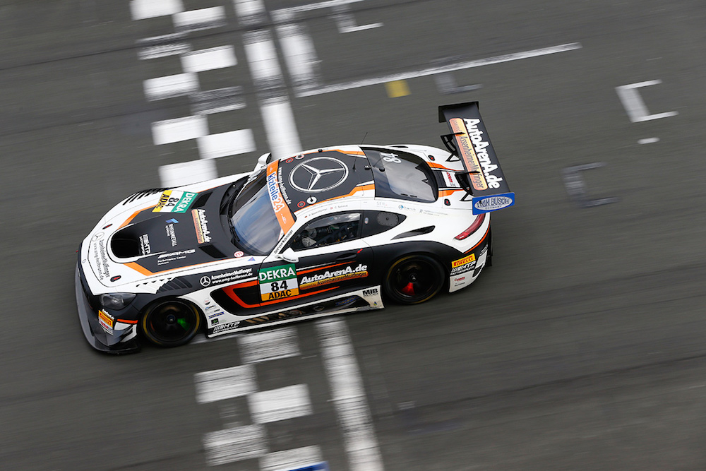 Auto Arena Mercedes AMG GT3 - ADAC GT Masters Test 2018 (Foto: ADAC Motorsport)