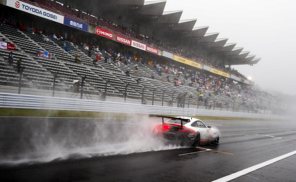 Porsche 911 RSR in Fuji (Foto: Porsche)