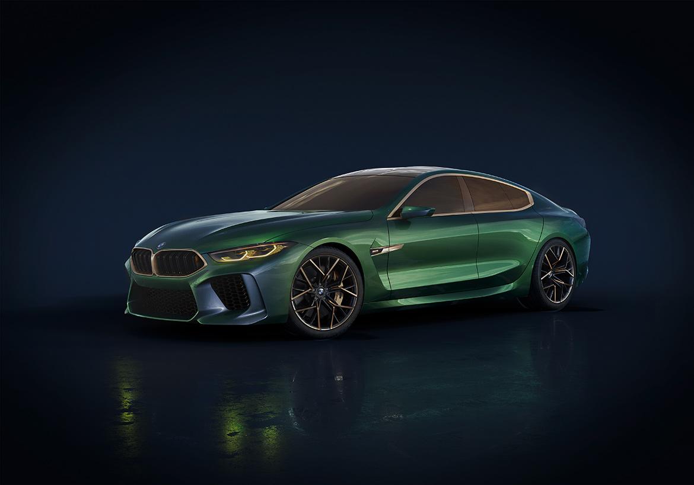 BMW M8 Gran Coupe Concept (Foto: BMW)