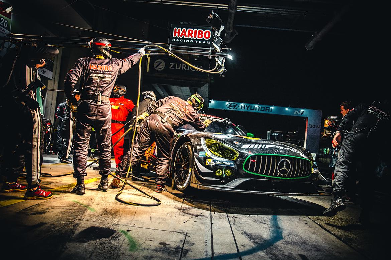 Haribo Racing Mercedes AMG GT3 - N24h 2017 (Foto: Felix Maurer)