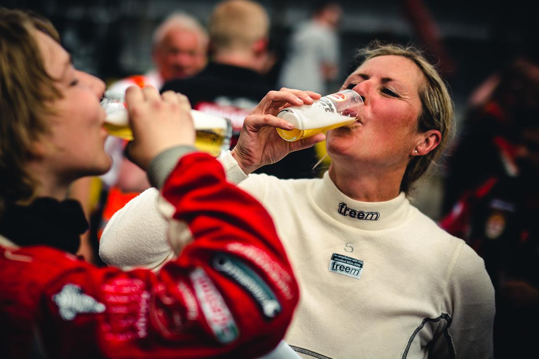 Sabine Schmitz beim 24h Rennen 2017 (Foto: Felix Maurer Photography)