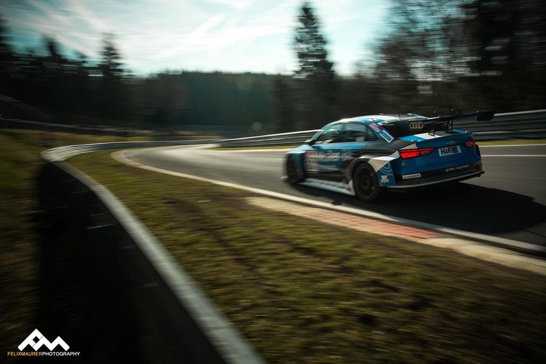 Audi RS3 LMS - VLN2 2018 (Foto: Felix Maurer)