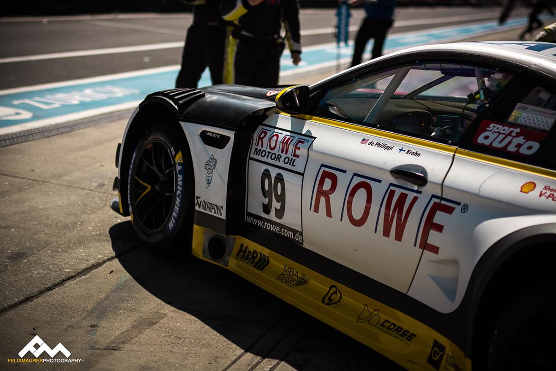 Rowe-BMW M6 GT3 - VLN2 2018 (Foto: Felix Maurer)
