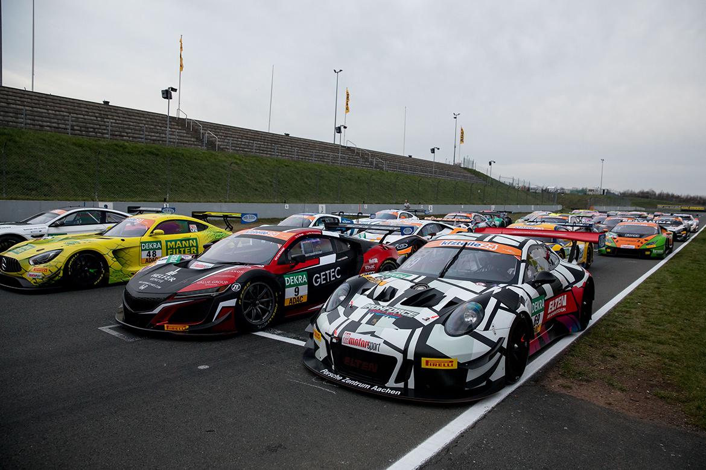 Das Feld der ADAC GT Masters Oschersleben 2018 (Foto: ADAC Motorsport