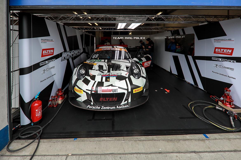 IronForce Racing Porsche 911 GT3 R - GT Masters Oschersleben 2018 (Foto: ADAC Motorsport