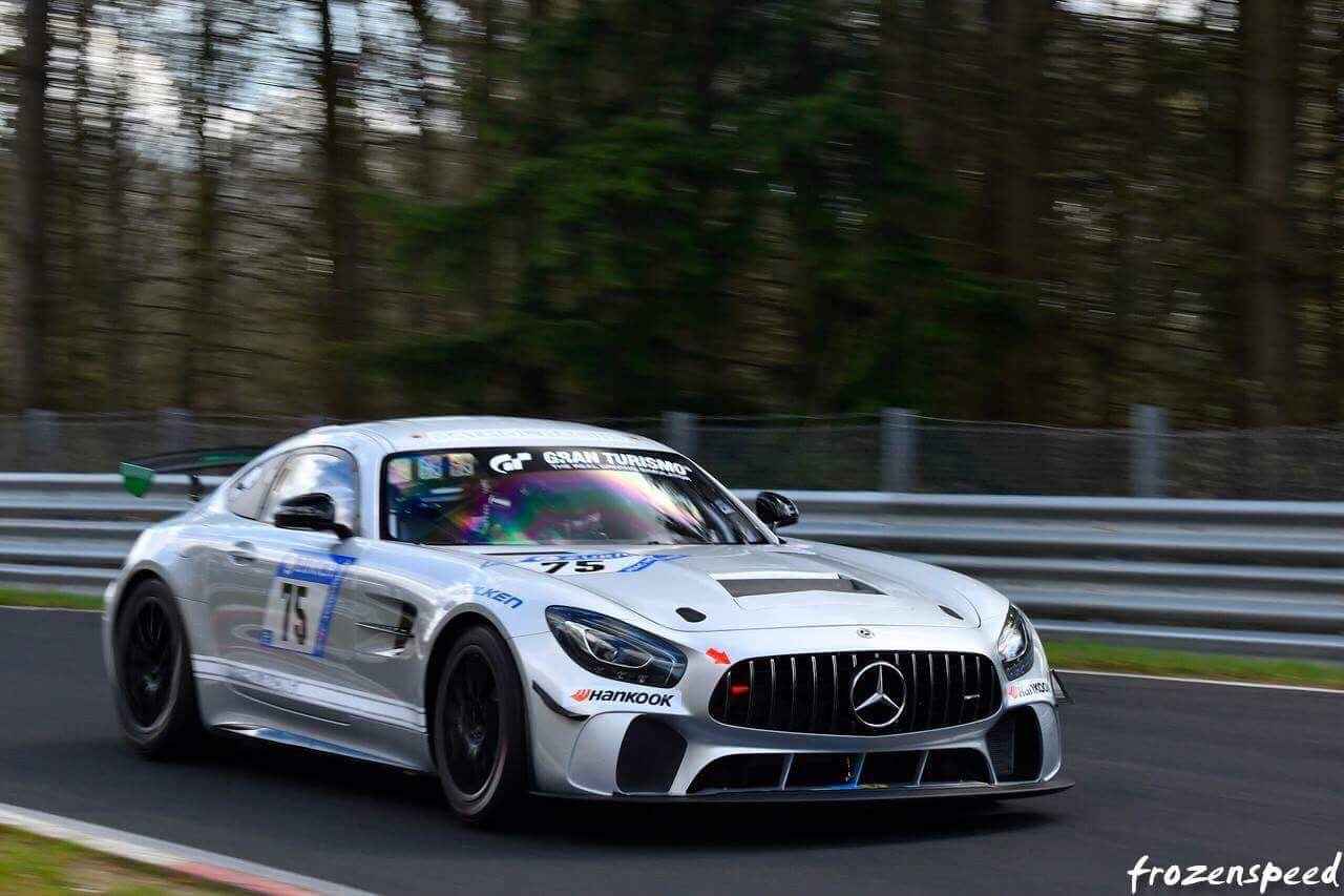 Domenico Solombrino im Mercedes AMG GT4 von Mathol Racing (Foto: Frozenspeed)