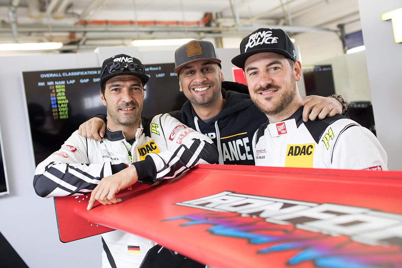 Lucas Luhr, JP Kraemer, Jan Erik Slooten (Foto: Porsche)