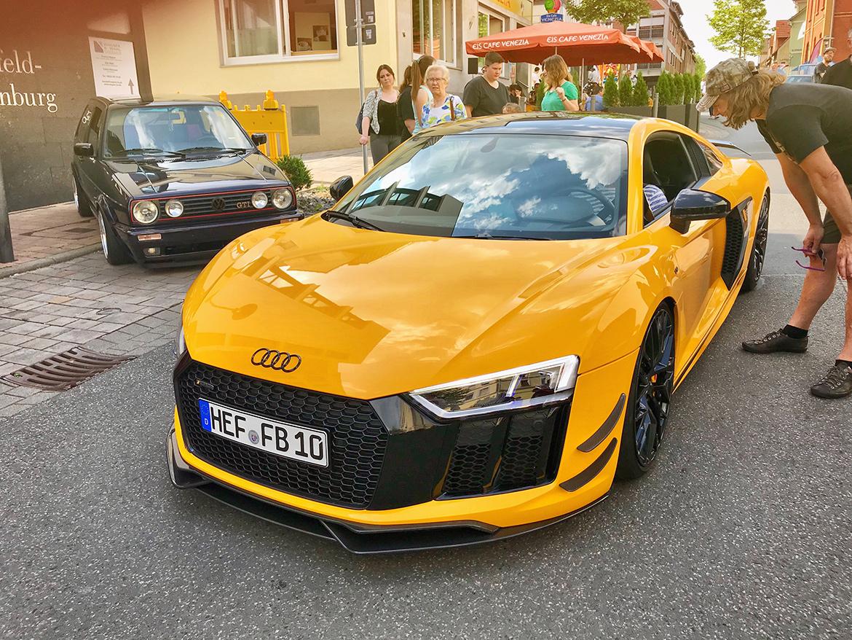 Audi R8 - Bebras Motortag 2018 (Robin Laudemann)