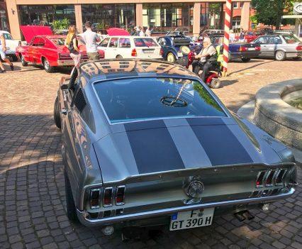 Ford Mustang Fastback - Einer der Hingucker bei Bebras Motortag 2018 (Foto: Robin Laudemann)