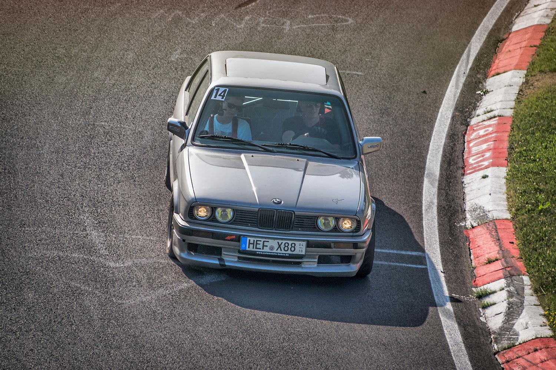 Mit dem BMW E30 325i auf der Nordschleife (Foto: mbsnapshot)