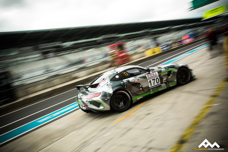Mathol Racing Mercedes AMG GT4 - VLN3 2018 (Foto: Felix Maurer)