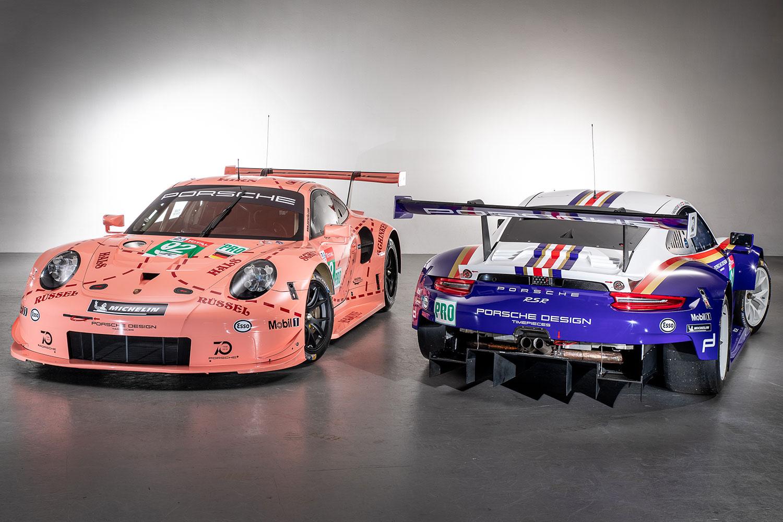 Porsche 911 RSR im Retro-Look für Le Mans 2018 (Foto: Porsche)