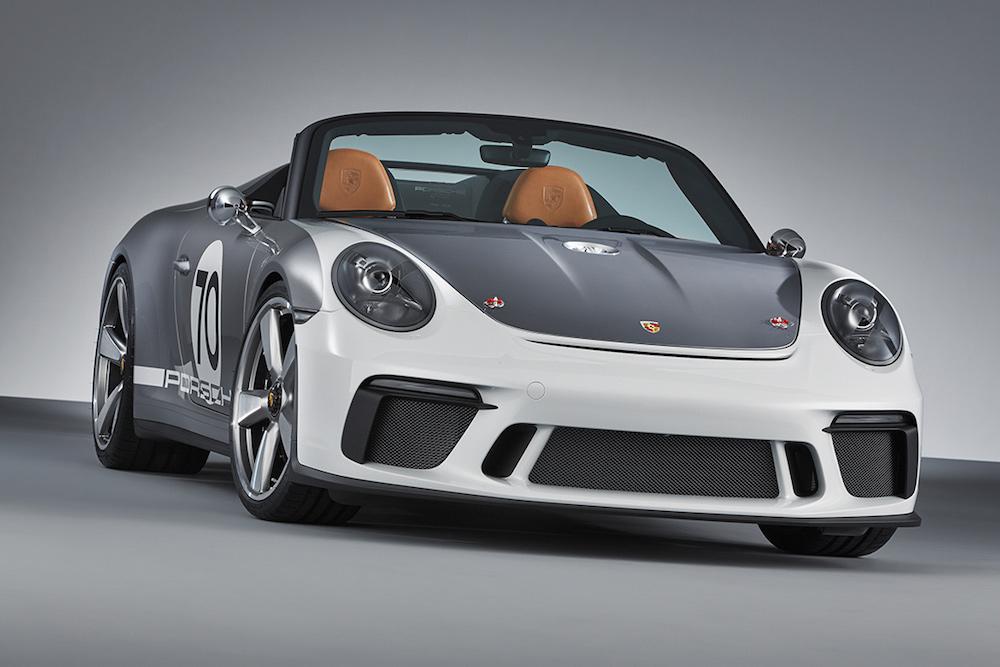 Porsche 911 Speedster Concept 2018 (Foto: Porsche)