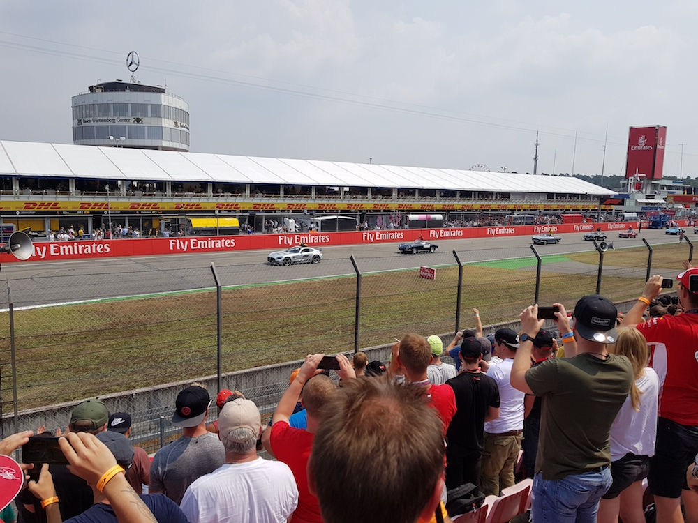 Fahrerparade - Formula 1 Grand Prix Deutschland 2018 (Foto: Felix Eichler)