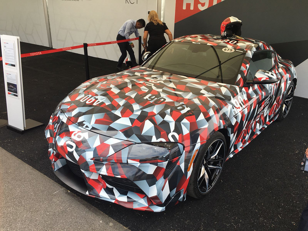 2020 Toyota Supra A90 - Goodwood FoS (Foto: Chronos Racing)