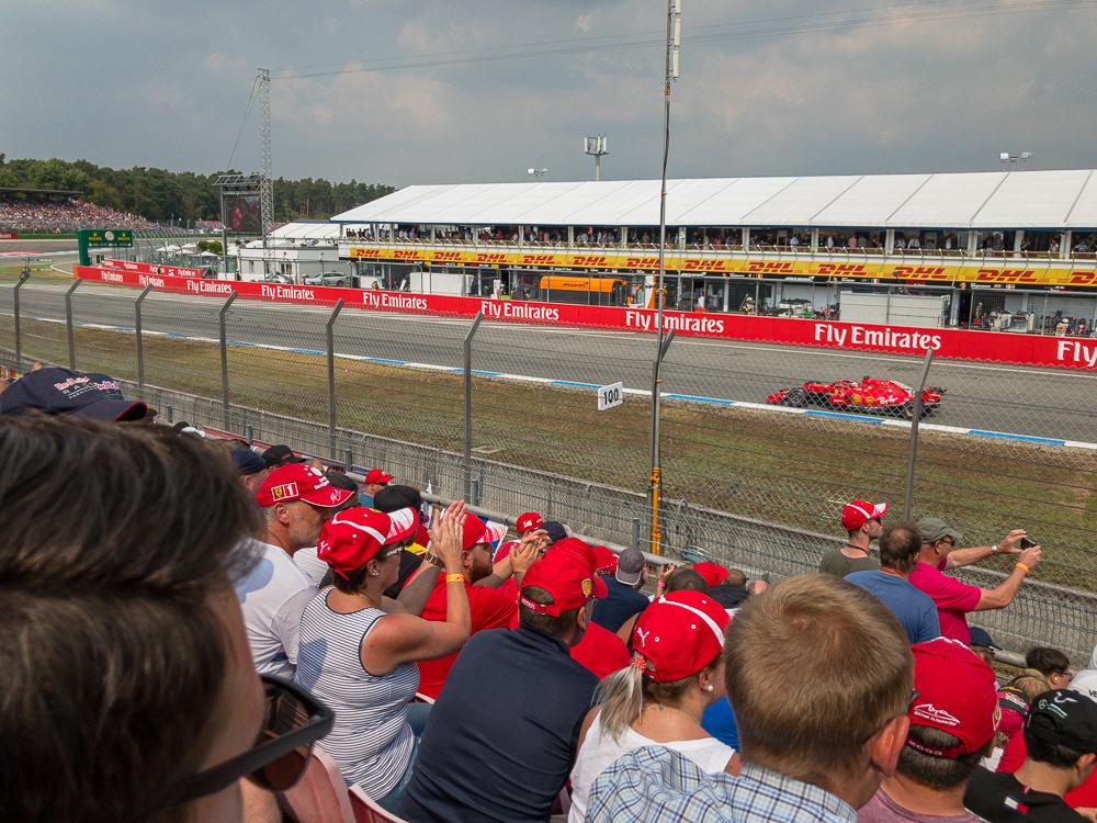 Sebastian Vettel - Formula 1 Grand Prix Deutschland 2018