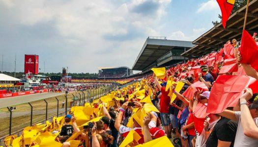 Formel 1 Hockenheimring: Gänsehaut, Wetterkapriolen & Vettel-Mania