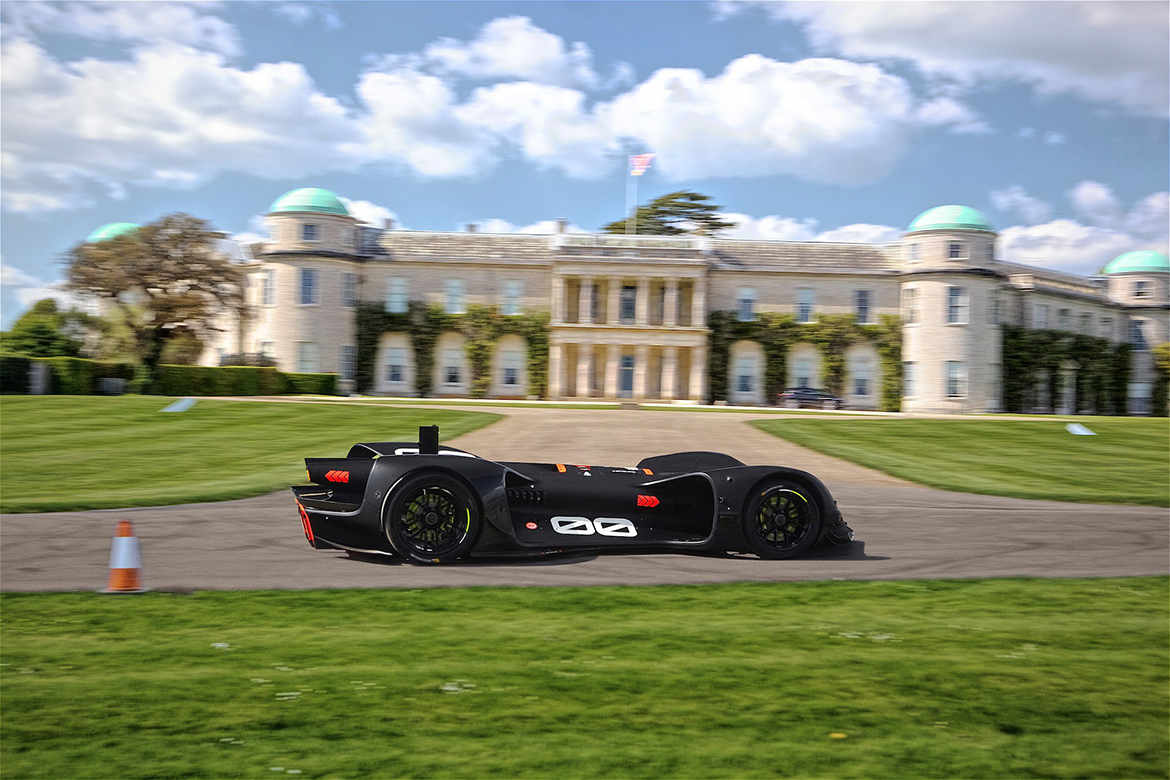 Roborace Robocar in Goodwood [Foto: Goodwood Media]