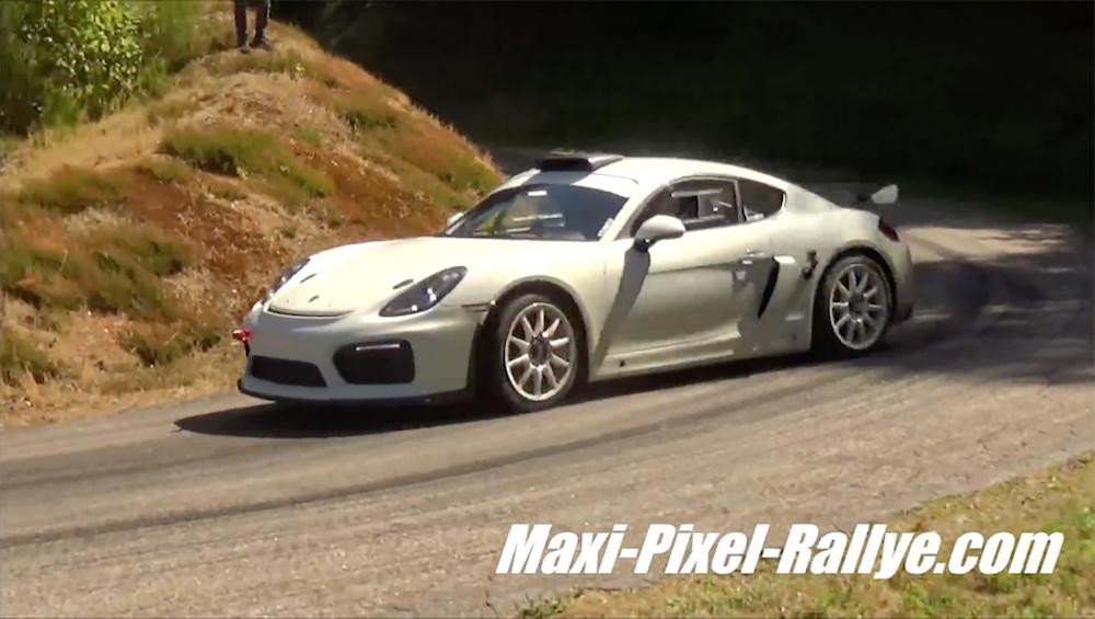 Porsche Cayman GT4 R-GT (Youtube/MaxiPixelRallye)
