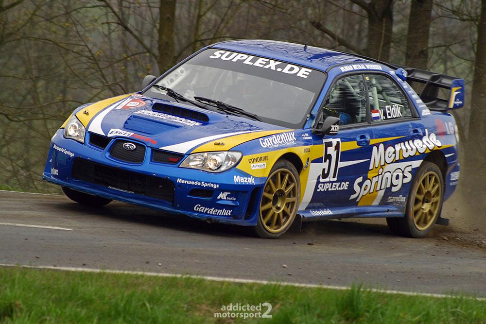 Mark van Eldik, Subaru Impreza WRC - Rallye Vogelsberg 2008