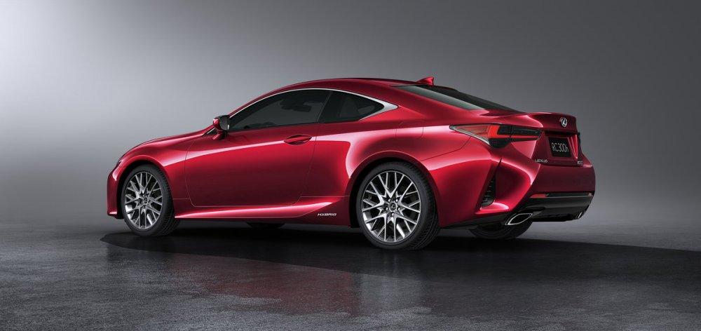 2019 Lexus RC Facelift (Foto: Lexus)
