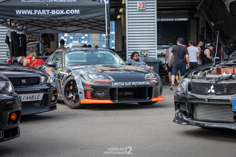 Fahrerlager Reisbrennen 2018