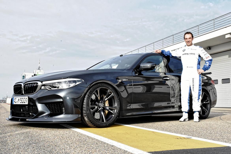 BMW M5 by AC Schnitzer - Fahrer Jörg Müller (Foto: AC Schnitzer)