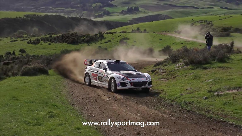 Mazda RX-8 Rallycar (Youtube/ RallySport Magazine)