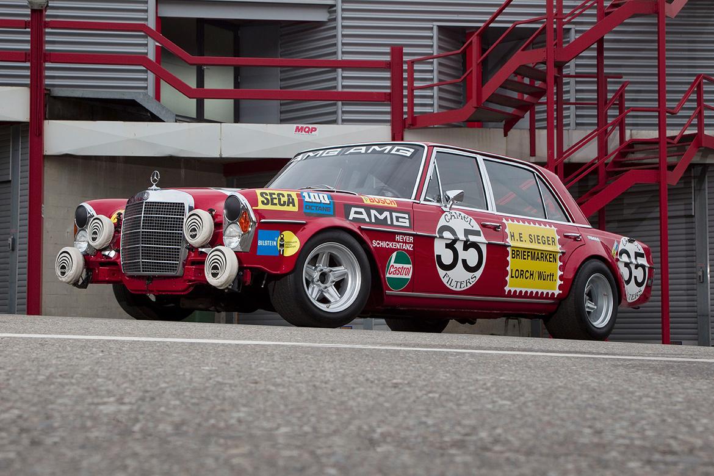 Mercedes 300 SEL 6.8 AMG (Foto: Mercedes)