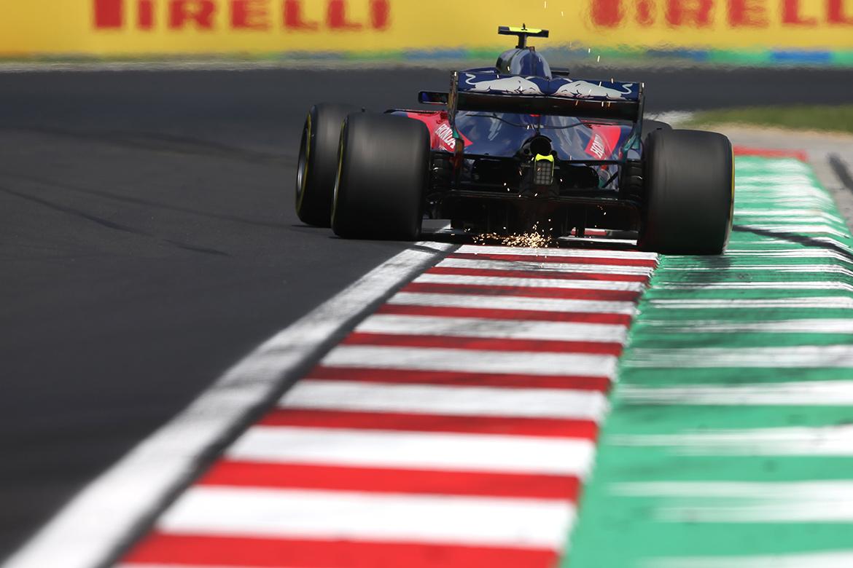 Scuderia Toro Rosso - GP Ungarn 2018 (Foto: Honda)